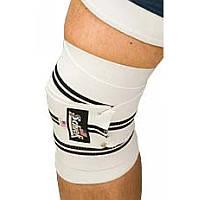 Бинты наколенные белые SCHIEK Line Knee Wraps 1178W
