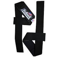 Нейлоновые кистевые ремни для тяги с неопреном SCHIEK Basic Padded Lifting Straps 1000BPS пара