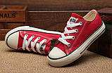 Converse Низкие детские кеды Converse All Star, фото 8