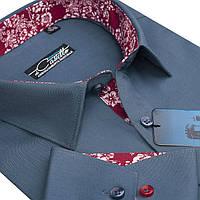 "Оригинальная рубашка для мужчин ""Castello flower"" , фото 1"