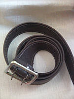 Ремень портупея  военный металлическая бляха цвет черный и коричневый