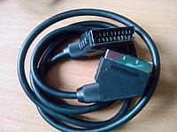 Кабель SCART-SCART б/у Германия 1,5м
