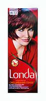 Стойкая крем-краска для волос Londa 45 Гранатово-красный