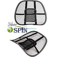 Массажная накидка на кресло MASTERSPIN SeatBbackSupport