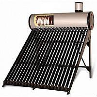 Сезонная гелиосистема на 200 литров горячей воды в день с напорным теплообменником