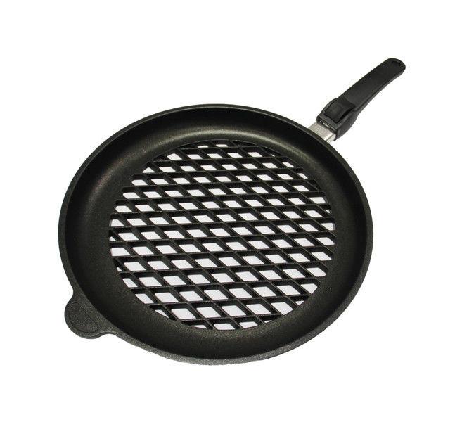 Сковорода гриль AMT перфорированная 32 см 432BBQ-Z10B