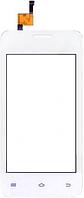 Сенсор (тач скрин) FLY FS403 Cumulus 1 white (оригинал)