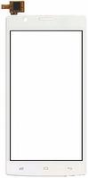 Сенсор (тач скрин) FLY FS501 Nimbus 3 white (оригинал)