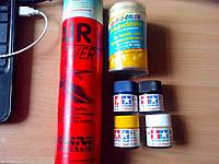 Баллон с красками для радиоуправляемых самолётов
