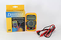 Мультиметр DT 830 LN, компактный карманный мультиметр, портативный цифровой мультиметр