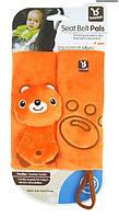 Подушка-защита-подголовник в авто для ребенка в автокресло! оранжевая