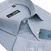 "Яркая мужская рубашка ""Castello mint"""