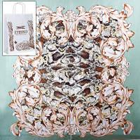 Платок женский шелковый 87*88 см ETERNO (ЭТЕРНО) ES0209-13-green