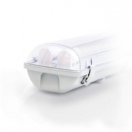Корпус светодиодного светильника  ЕВРОСВЕТ LED-SH-2*10 (2*600мм)
