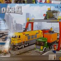 Детский конструктор поезд 25004