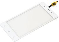 Сенсор FLY IQ453 Quad Luminor FHD white (оригинал), тач скрин для телефона смартфона