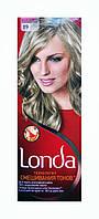 Стойкая крем-краска для волос Londa 89 Платиново-серебристый