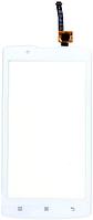 Сенсор (тач скрин) LENOVO A2010 white (оригинал)