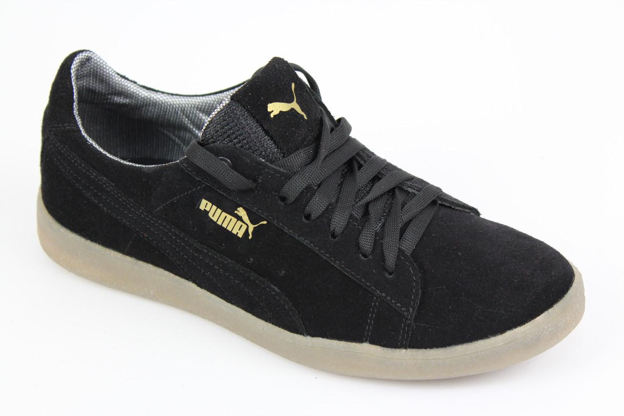 Кроссовки Puma Classic Suede All Black мужские кроссовки Пума черные