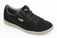 Кроссовки Puma Classic Suede All Black мужские кроссовки Пума черные, фото 1