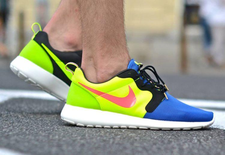 Кроссовки мужские Nike Roshe Run Hyperfuse / RRM-272 (Реплика)