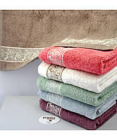 Полотенца лицевые nora 50*90 (100 % Cotton)