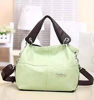 """Женская сумка """"WeidiPolo"""" Светло-зеленый, Да"""