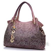 Красивая сумка-мешок. Удобная сумка. Заметная и интересная сумка. Недорогая сумка. 16.0, Да, Да, Розовый
