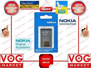 Аккумулятор Nokia BL-4U Оригинал , фото 2