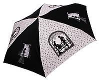 Женский зонт Zest МИНИ Поэзия Пушкина ( механика, 5 сложений ) арт. 55526-17