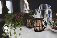 Подсвечник металлический фигурный под свечу, фото 1