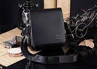 Мужская брендовая повседневная офисная модная стильная кожаная сумка KANGAROO KINGDOM, 21*19*7, фото 1