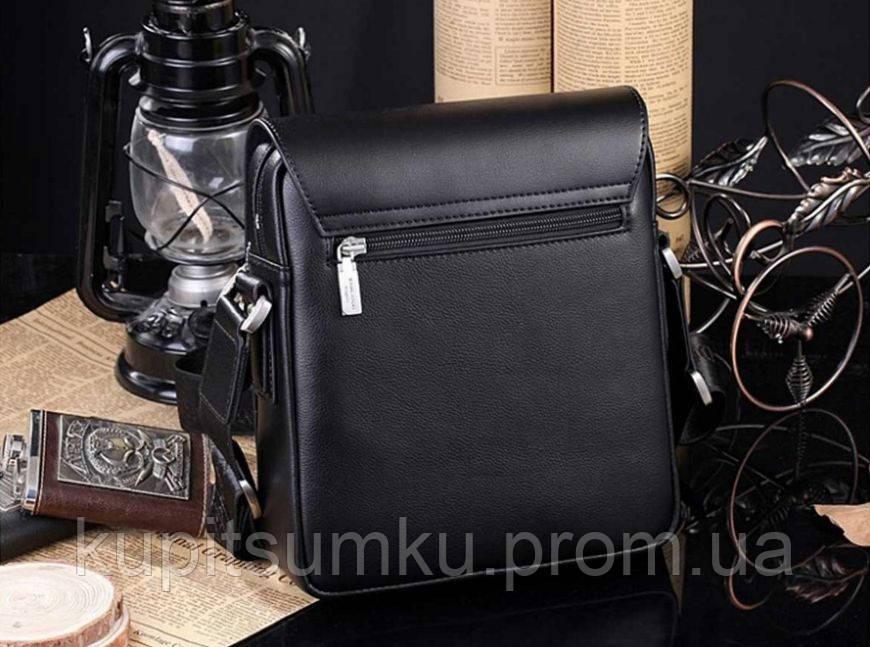 a4a3a8d7dec4 Мужская брендовая повседневная офисная модная стильная кожаная сумка  KANGAROO KINGDOM, ...