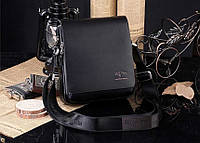 Мужская брендовая повседневная офисная модная стильная кожаная сумка KANGAROO KINGDOM, Киев Украина 25*21*7, фото 1