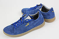 Puma Пума Suede Classic Классик Blue кроссовки мужские синие
