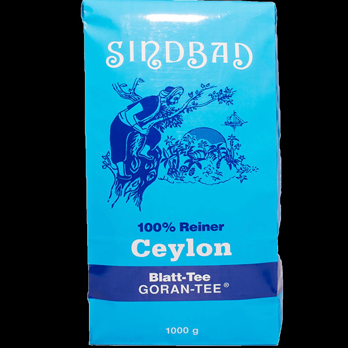 Чай Чай черный крупнолистовой Goran-Tee Sindbad 1 кг