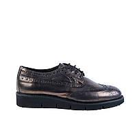 Туфли женские кожаные Venezia 601 бронз., фото 1