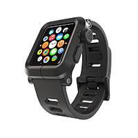 Противоударный чехол с ремешком для apple watch lunatik epik