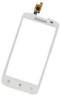 Сенсор (тач скрин) LENOVO A378t white (оригинал)
