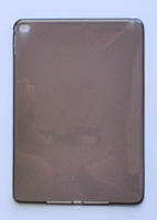 Чехол для iPad Air 2 Прозрачный тонкий Силикон толщиной 0.8 мм Темный