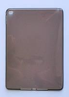 Чехол-накладка тонкий Силикон толщиной 0.8 мм для Apple iPad Air 2 Прозрачный Black