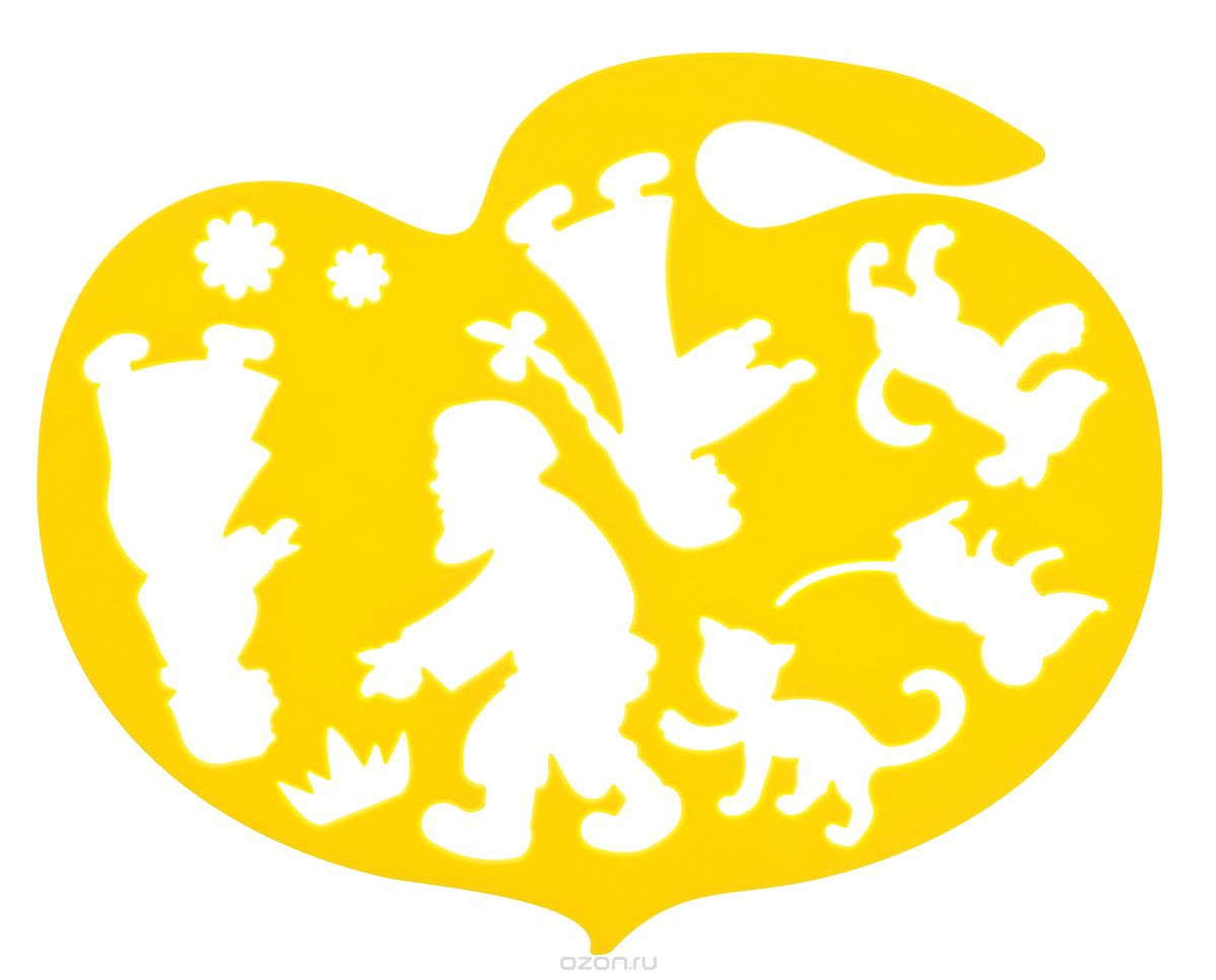 """Трафарет фигурный """"Репка""""  """"ЛУЧ""""  - Оптовый Интернет Магазин - KancReal в Одессе"""