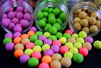Карповая приманка Carp Balls: 70 штук, 48 вкусов, сохранение аромата и цвета 24 часа