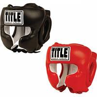 Боксерский защитный шлем TITLE Boxing Traditional Training Headger
