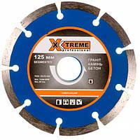 Диск алмазный X-Treme Segment 1A1RSS/C3-W 125х7х22.23 мм (29483)