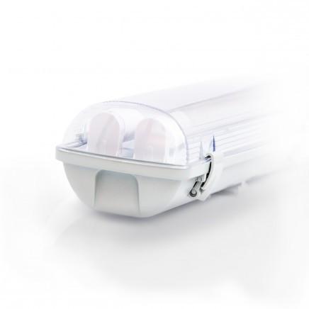 Светодиодный светильник  ЕВРОСВЕТ 18Вт LED-SH-2*10 с Led лампами (2*600мм)