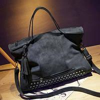 Стильная женская сумка. Модная. Кожаная женская сумка., фото 1