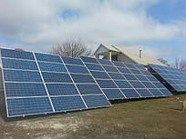 Сетевая солнечная станция 30 кВт ABB под ключ