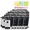 Автономная солнечная электростанция 6 кВт