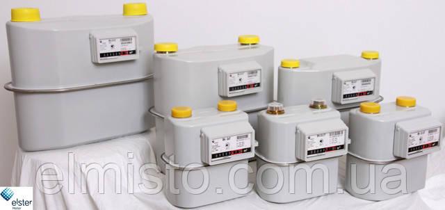 характеристики промышленных газовых счетчиков ELSTER BK G25Т